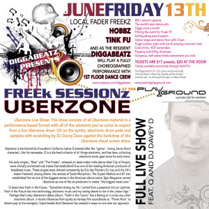 Uberzone Flyer Back