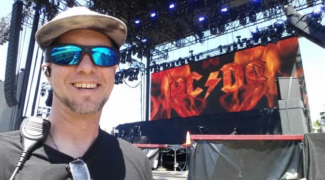 AC/DC Backstage – The lighting